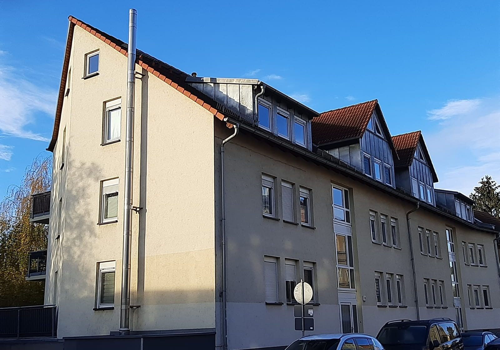Leipzig, Stahmelner Straße 19_Hausansicht Straße